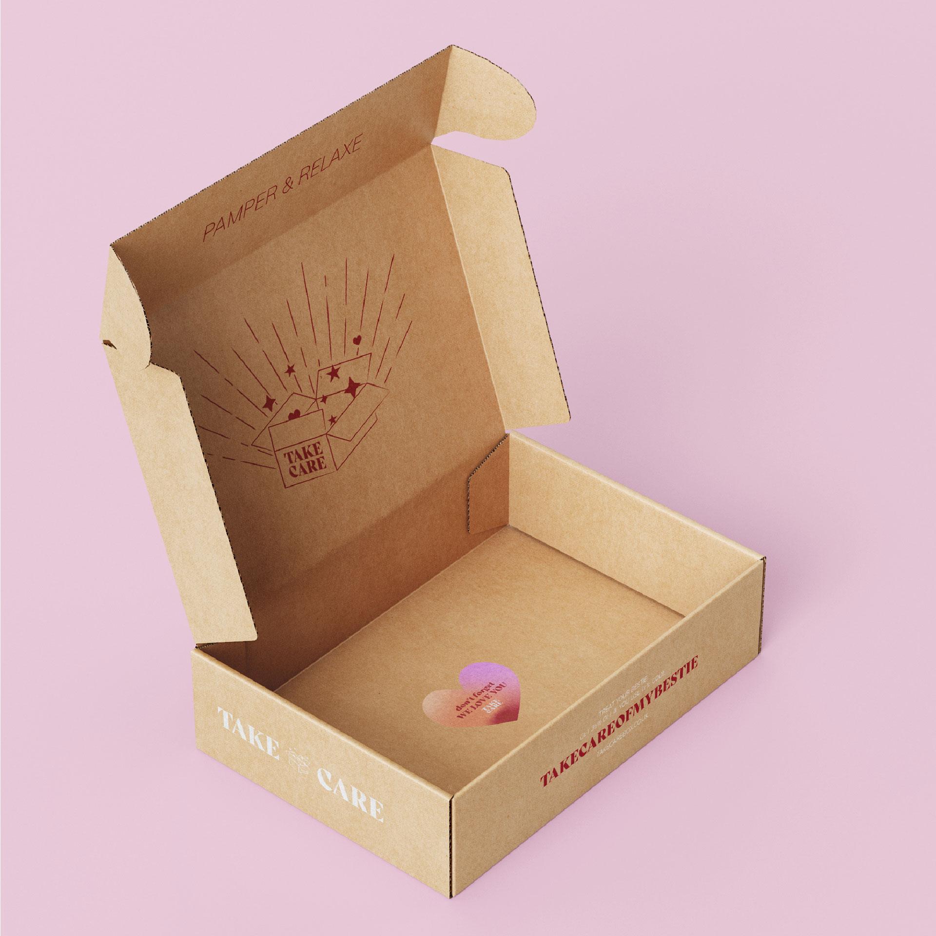 Open Box Design Mockup