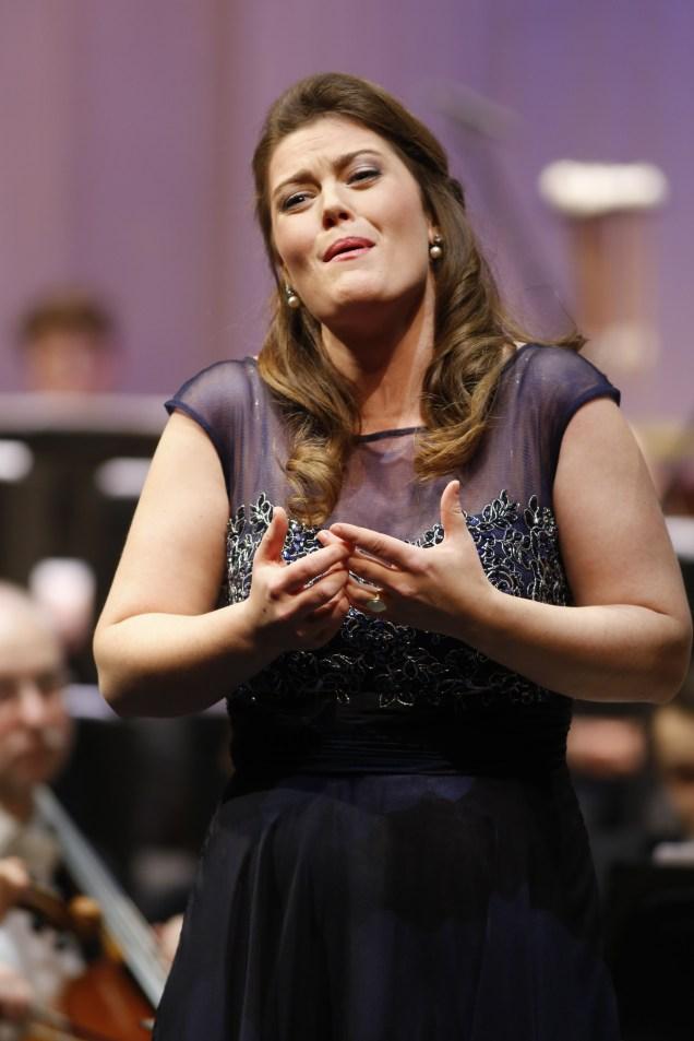 Sopranistin Jana Baumeister beim 45. Bundeswettbewerb Gesang © M. Heyde