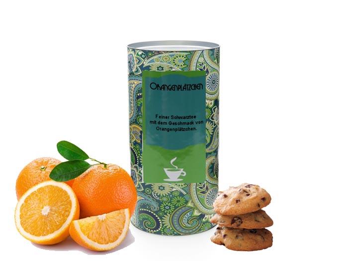 Wintertee: Schwarztee Orangenplätzchen von Tea & More. © Tea & More Onlinehandel UG
