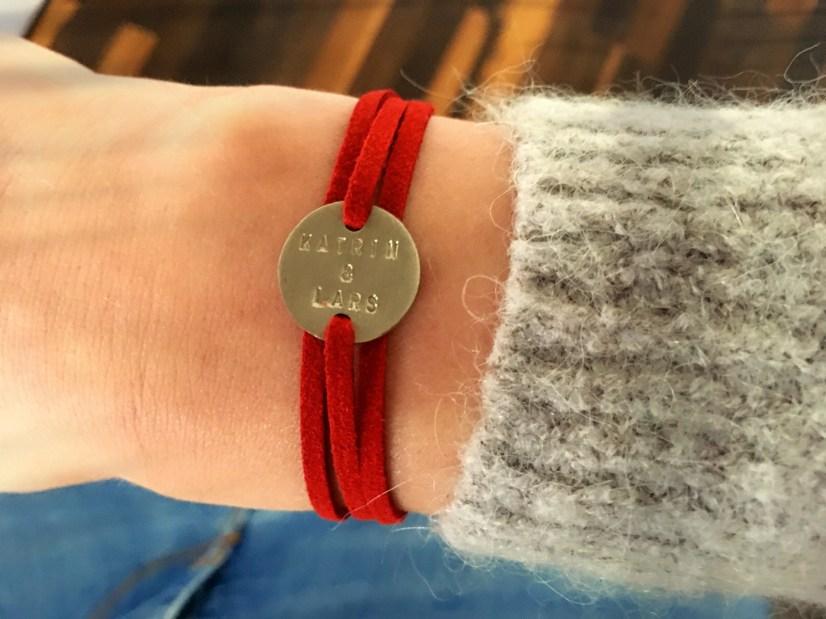 Super stylisch! Die individualisierbaren Armbänder von Loverope. © katrin-lars.net