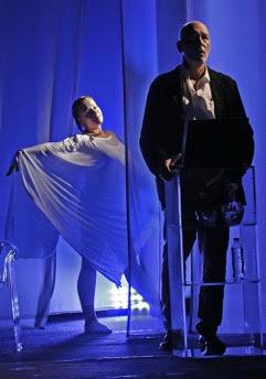 "Szene aus dem Stück ""Therapie"". © Berliner Kriminal Theater"