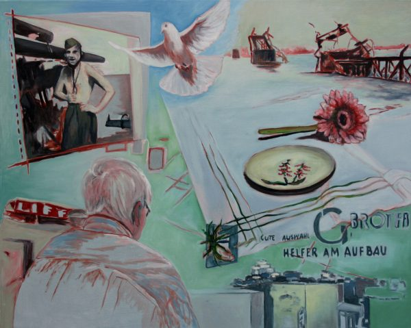 Must be displayed, Öl auf Leinwand 80 x 100 cm