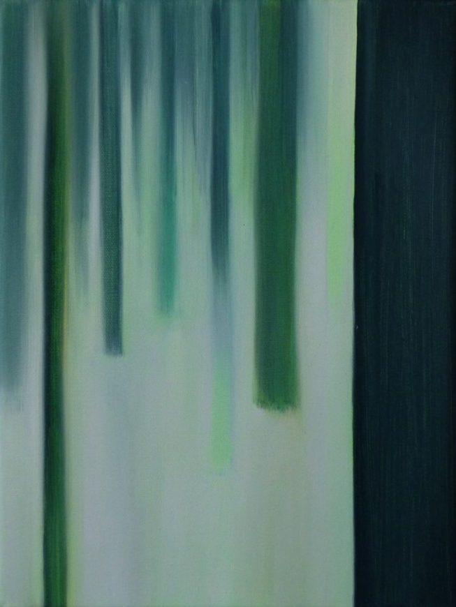 VERTIKAL 24, 2016 Öl auf Leinwand 40 x 30 cm