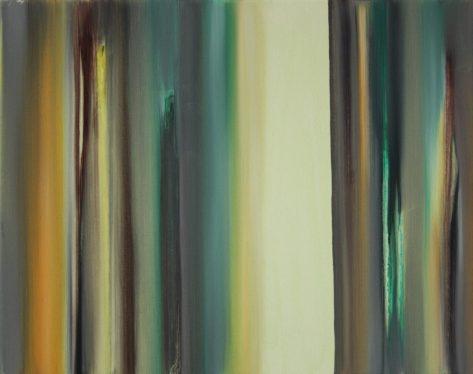 VERTIKAL 11, 2016 Öl auf Leinwand 40 x 50 cm