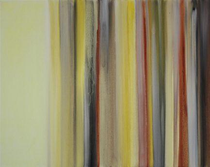 VERTIKAL 12, 2016 Öl auf Leinwand 40 x 50 cm