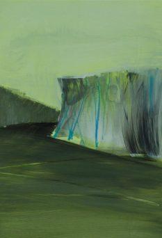 FRINGE, 2017 acryl on paper 33 x 23 cm