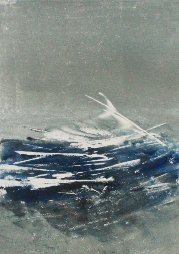 EVANESCENT, 2017, SOLD, Monotype DINA4