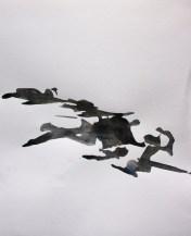 BOHUSLÄN 3, 2013 acryl on paper 24 x 30 cm