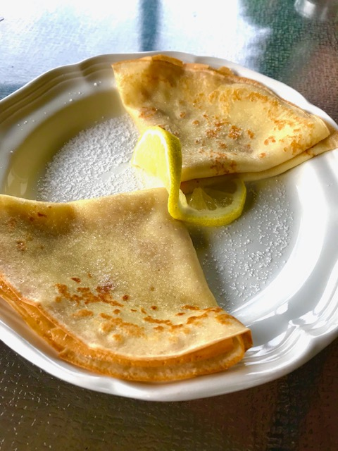 Lemon Crépes
