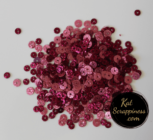 Raspberry Sparkles Sequin Mix