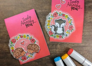 valentine note cards