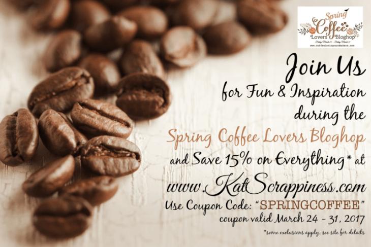 Spring Coffee Lover's Blog Hop
