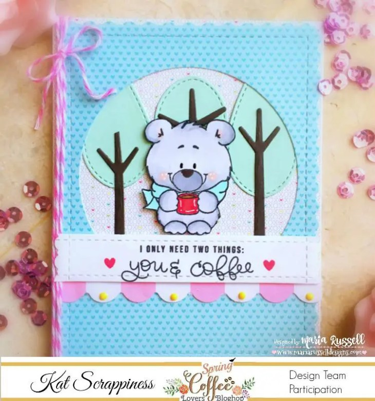 Maria Russell Spring Coffee Lover's Blog Hop