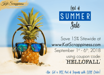 Kat Scrappiness Labor Day Sale