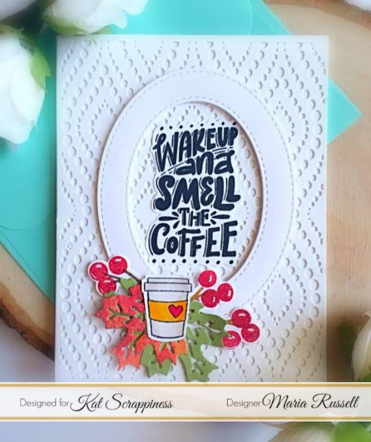 Maria Russell - National Coffee Day Blog Hop