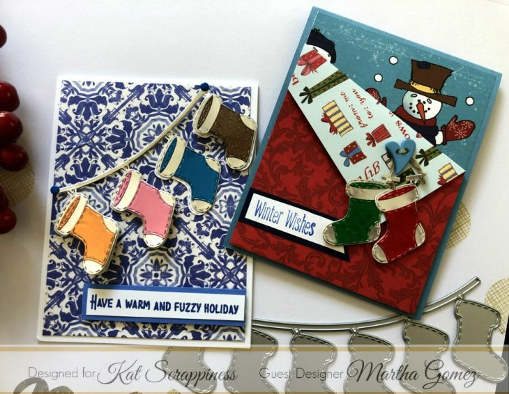 Christmas Stocking Banner Cards