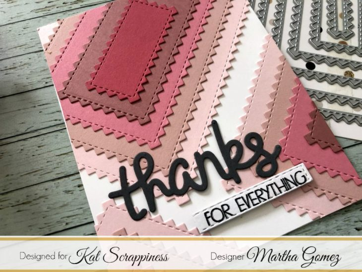 Zig Zag Rectangles by Martha Lucia