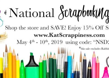 National Scrapbooking :Day!