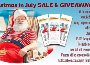 Christmas in July Sale & Raffle Tickets