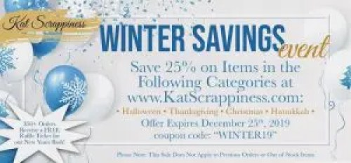 Winter Sale at Kat Scrappiness