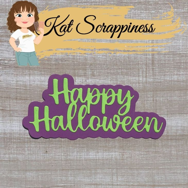 Happy Halloween Die