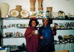 Pottery ladies