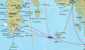 Islands map