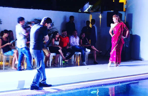 Goa, India: Style Show Guest Model