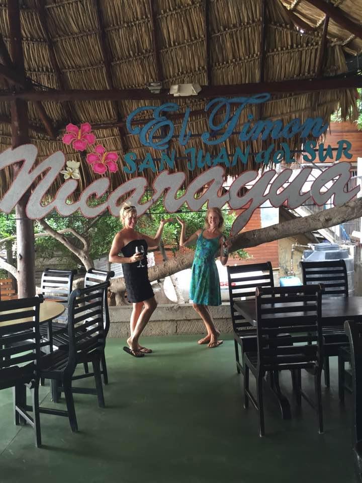 San Juan del Sur, Nicaragua: Jax & Kat Radio Show on the Road