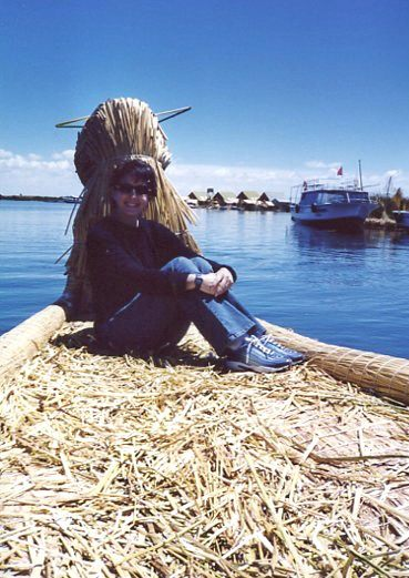 Reed Islands, Lake Titicaca, Peru/Bolivia