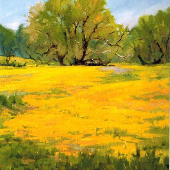 Spring on Shell Creek by Elizabeth Tolley