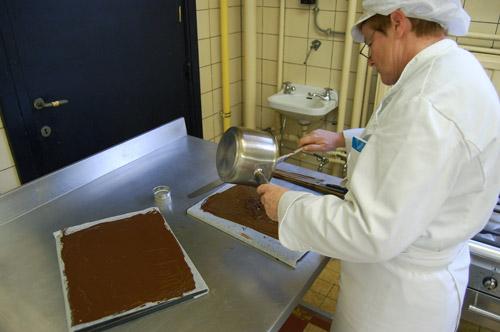 Chocolat garniture