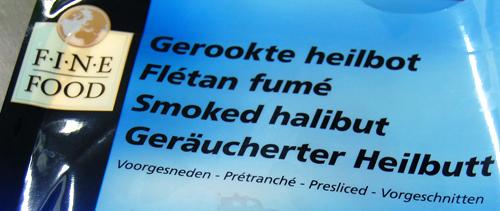 Fletan fumé