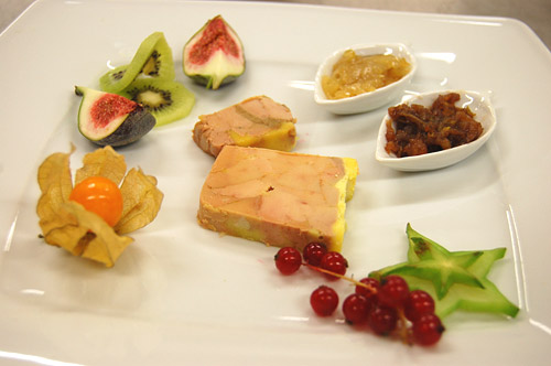 Foie gras apprenti cuistot for Decoration assiette foie gras
