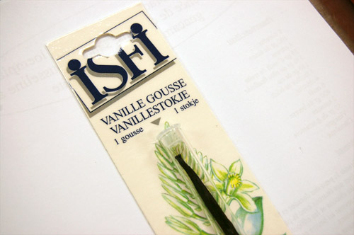 Gousse de vanille ISFI