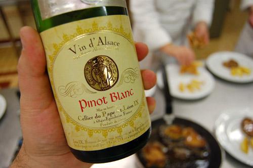 Pinot blanc, vin d'Alsace