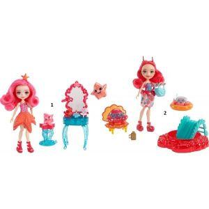 Mattel Enchantimals Σετ Κούκλα Του Βυθού 2 Σχέδια (FKV58)