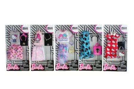 Mattel Barbie Πρωινά Σύνολα – Διάσημες Μόδες -13 Σχέδια FKR66