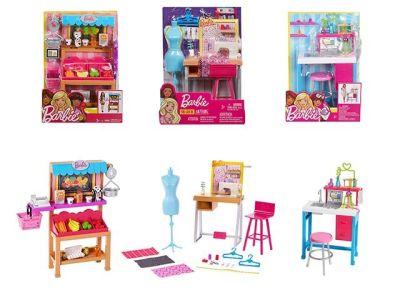 Mattel Barbie – Η Καριέρα Της Barbie – 4 Σχέδια FJB25