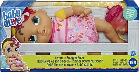 Hasbro – Baby Alive – Sweet 'n Snuggly Baby E7599