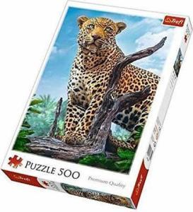 Trefl – Puzzle Ενηλίκων – 500 Pcs – Wild Leopard 37332