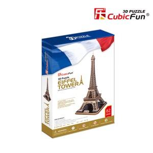 Cubic Fun – 3D Puzzle Eiffel Tower 82 Pcs MC091h
