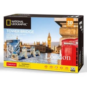 Cubic Fun – 3D Puzzle National Geographic, Tower Bridge 120 Pcs DS0978h