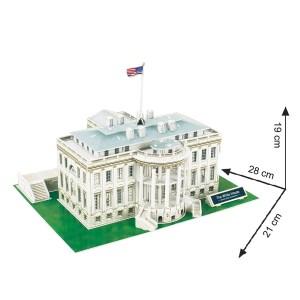 Cubic Fun – Puzzle 3D The White House 64 Pcs C060h