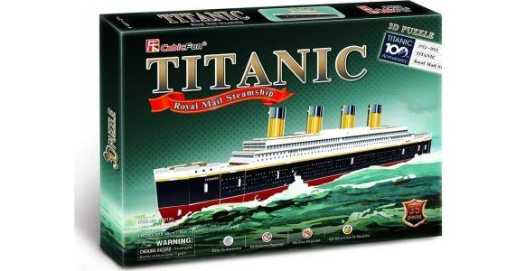 Cubic Fun – Puzzle 3D Titanic 35 Pcs T4012h