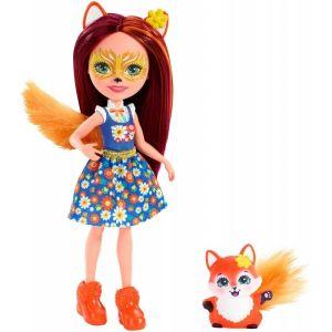 Mattel Enchantimals – Κούκλα Και Ζωάκι Felicity Fox & Flick FXM71 (DVH87)