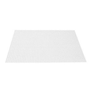 Lego Classic – White Baseplate 11010