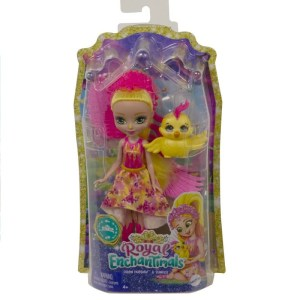Mattel Royal Enchantimals – Κούκλα Και Ζωάκι Failon Phoenix & Sunrise GYJ04 (FNH22)