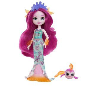 Mattel Royal Enchantimals – Κούκλα Και Ζωάκι Maura Mermaid & Glide GYJ02 (FNH22)