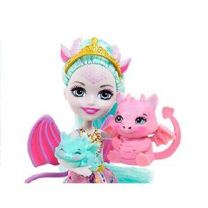 Mattel Enchantimals Royals – Deanna Dragon Family GYJ09 (GJX43)